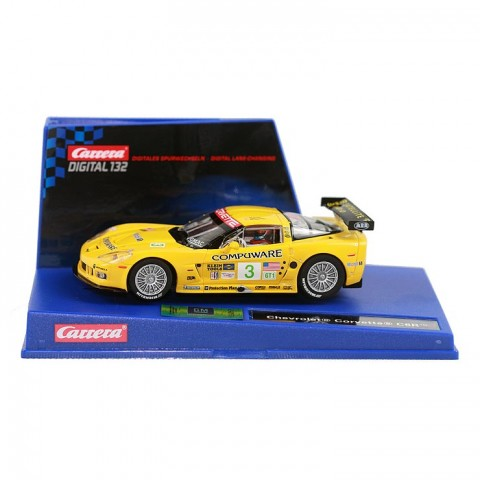Carrera 30288 Digital 132 CHEVROLET CORVETTE C6R SEBRING in einer Box